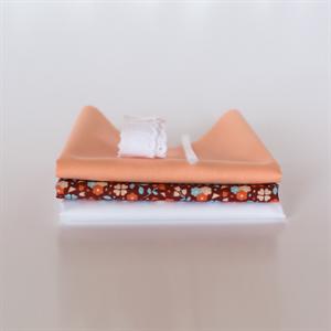 Picture of Set pour robe de poupée supplémentaire - Marsala - Rose Pastel