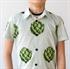 Bild von Artichoke - Cotton Lawn - Dämmerung Grün