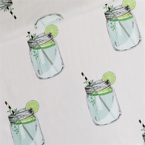Picture of Iced Tea - L - Cotton Lawn - Lichtgrijs