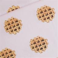 Afbeelding van Waffle - L - Cotton Lawn - Gesluierd Roze