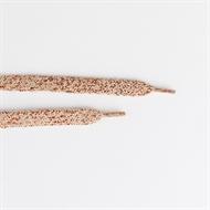 Bild von Schnürsenkel - Gegrautes Rosa mit Kupfer Lurex