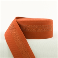 Picture of Elastic waistband - Rust with Copper Lines
