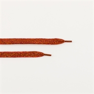 Picture of Shoelaces - Spice Red with Gold Lurex