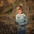 Bild von Forest Animals - L - French Terry - Grau Aqua